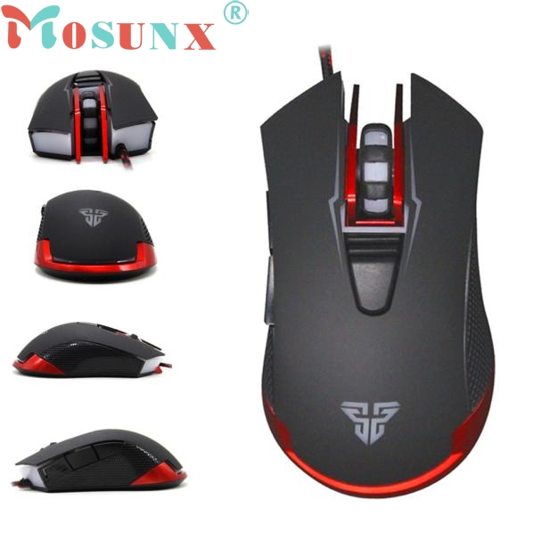 2400DPI LED Optical 6D USB Wired Gaming Game Mouse For PC Laptop Game Top Quality Nov2 wired 6 key usb 2 0 800 1000 1600 2400dpi optical gaming mouse