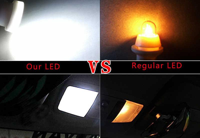 Керамика салона светодио дный T10 удара W5W 168 Клин двери Инструмент Сторона лампа автомобилей свет плиты белый/синий/зеленый/красный/желтый