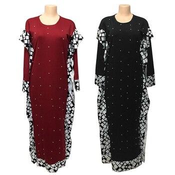 Bangladesh long hijab evening dress for woman