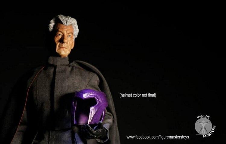 1:6 scale Super flexible figure  X-Men Magneto 12 action figure doll Collectible Model plastic toys