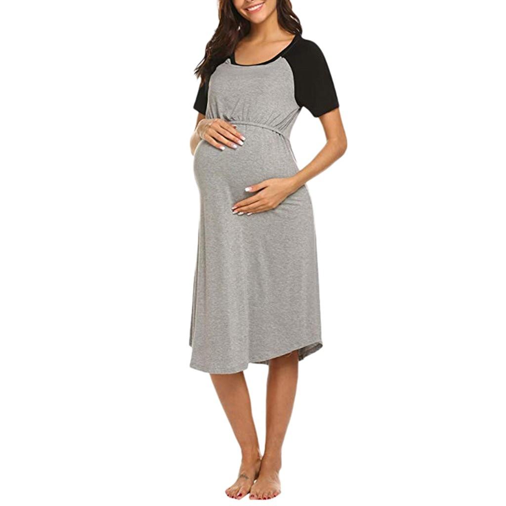 Summer Sale Price Reduction Women S Maternity Dress Nursing Nightgown Breastfeeding Nightshirt Sleepwear Pregnancy T Shirt 20 Dresses Aliexpress