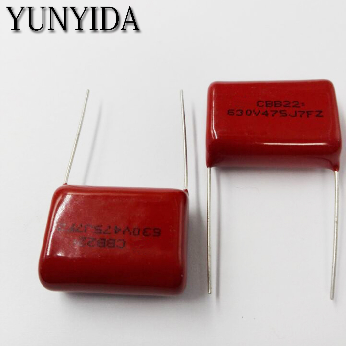 Free Shipping 5pcs, CBB 475J  630V  4.7uF  P30mm  Metallized Film Capacitor  475 630V  630V475J