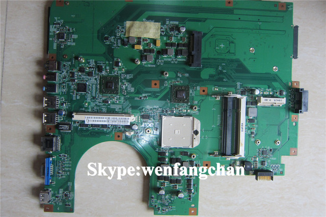 Laptop Motherboard MBAYS01001 MB.AYS01.001 with vga slot   For  8530 08208-1  48.4AJ01.011  NON-INTEGRATED DDR2 100% tested ok