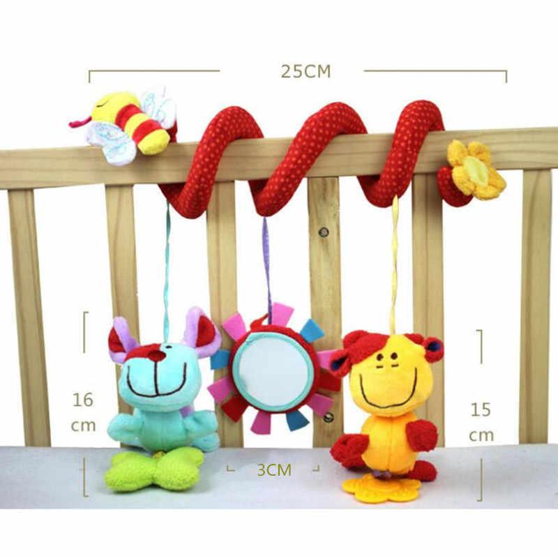 ベビーガラガラ携帯電話知育玩具子供のためのおしゃぶり幼児ベッドの鐘クロール子供ベビーカー人形 20% オフ