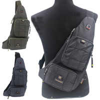 High Quality Waterproof Chest Backpack Rucksack Military Travel Designer Travel Oxford Men Sling Shoulder Cross Body Bag