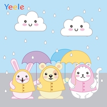 Yeele Peter Rabbit Totoro Cat Little Birthday Party Wallpaper Of Photography Backdrops Photographic Backgrounds For Photo Studio