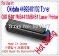 Recarga De Toner Para OKI B401 MB441 MB451 Impressora, Para Okidata 44992401 44992402 Toner Para Impressora de OKI B441 B451, para OKI 441 Toner