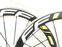 Carbon Bicycle Wheels With Alloy Brake Surface 60mm 50mm Clincher Road Bike Wheelset 23mm Wide Wheels