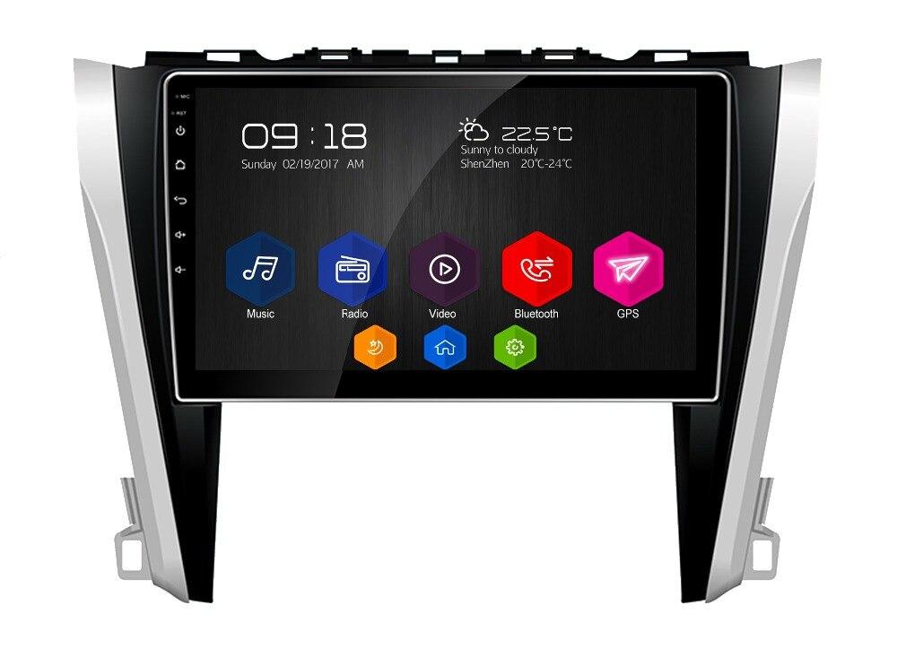 10.1 otojeta Android 6.0.1 DVD мультимедиа для Toyota Camry 2015 2016 Авторадио Сенсорный Стерео штатные магнитофон