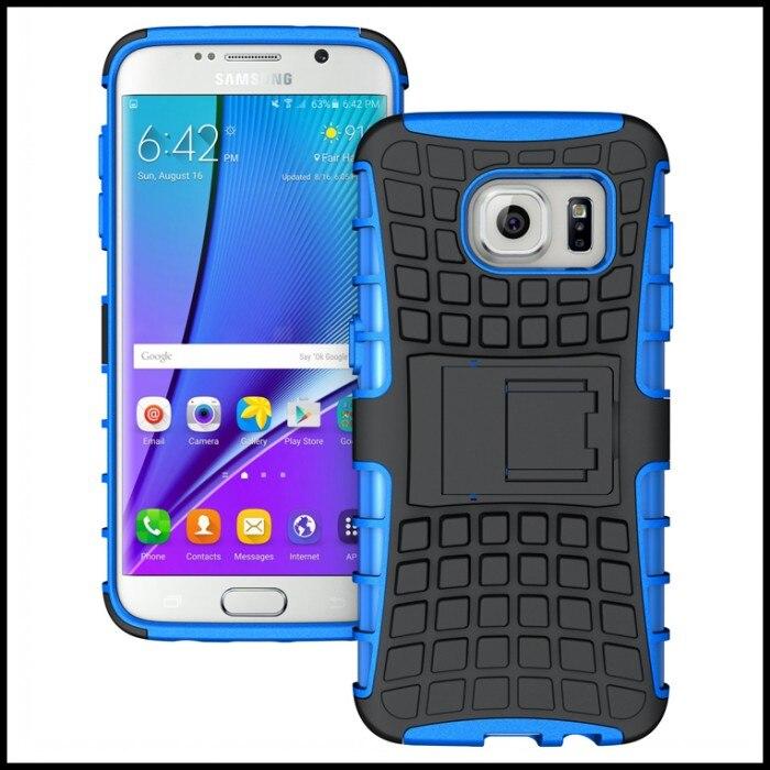 Para Galaxy S7 Teléfono Caso de Borde Duro Heavy Duty Armor TPU + PC Protectora