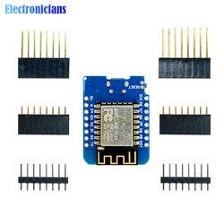 ESP8266 ESP-12 ESP-12F CH340G CH340 V2 USB WeMos D1 Mini WIFI Entwicklung Bord D1 Mini NodeMCU IOT Bord 3,3 V mit Pins