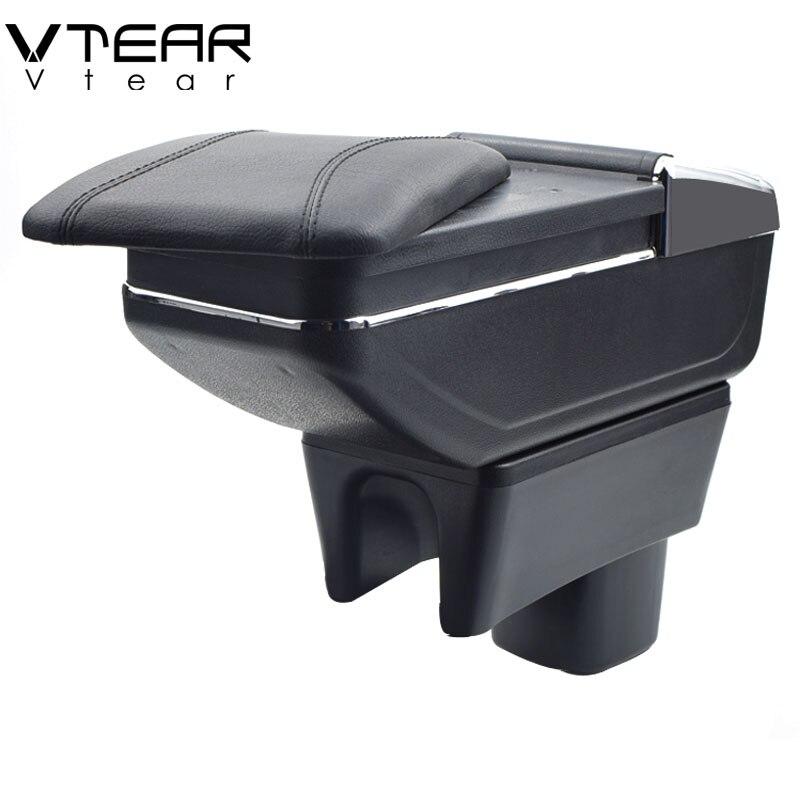Vtear Pour SUZUKI Swift boîte accoudoir central boîte de contenu de Magasin porte-gobelet cendrier produits de voiture produits de coiffure accessoires pièces