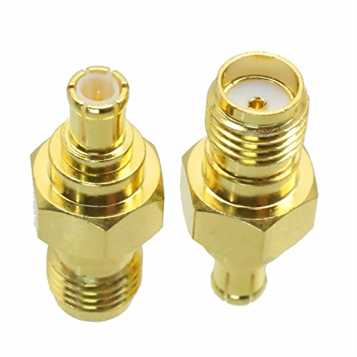 100PCS SMA Female Jack to MCX Male Plug RF Coaxial Adapter Connector