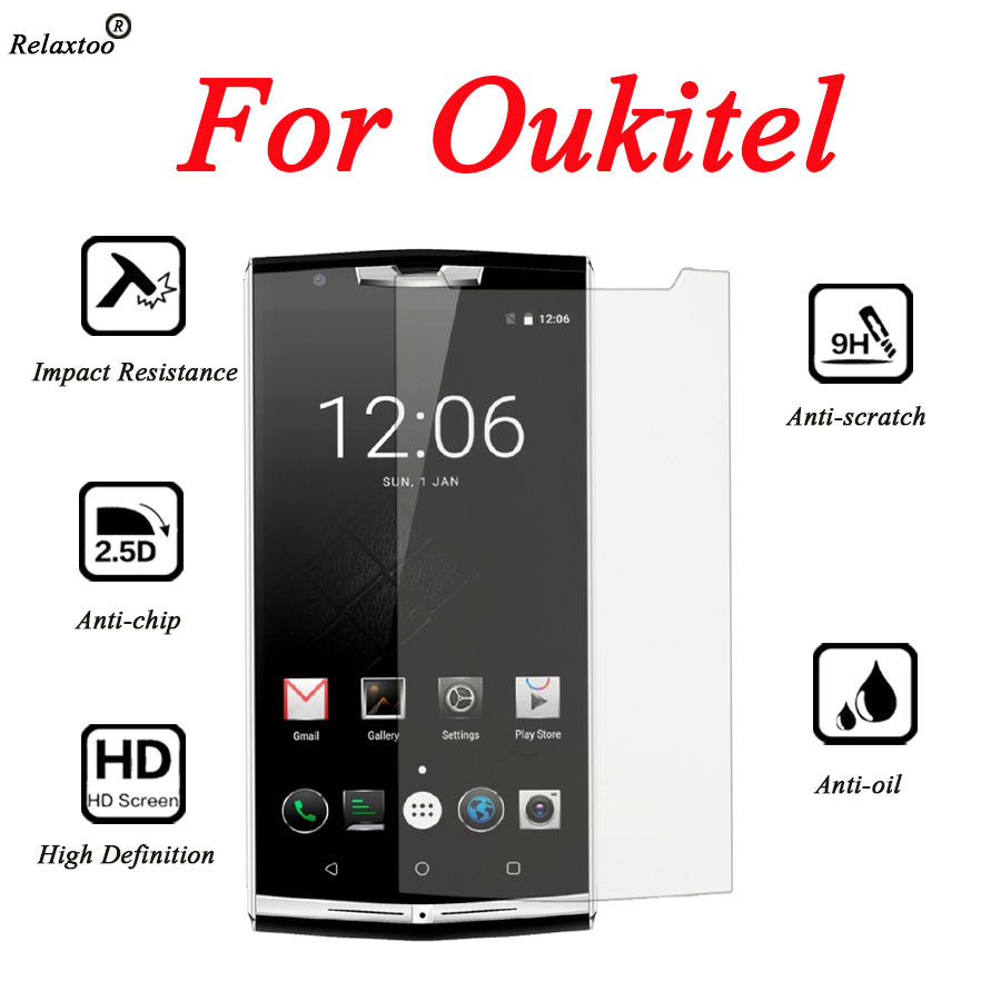 For <font><b>oukitel</b></font> c8 protective glass for <font><b>oukitel</b></font> k6000 pro glass <font><b>screen</b></font> k3 k6 k10 k10000 plus u7 u15 u20 k5000 <font><b>k8000</b></font> film protector image