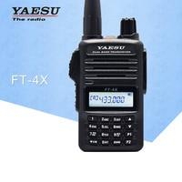 New Release Yaesu FT 4XR Handheld Walkie Talkie Dual Band Multi Function Two Way Radio Transceiver