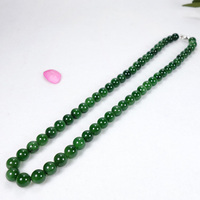 Drop Shipping Natural Green Jade Necklace Jasper Necklace For Engagement Anniversary Wedding Gift Jade Jewelry For Women Men