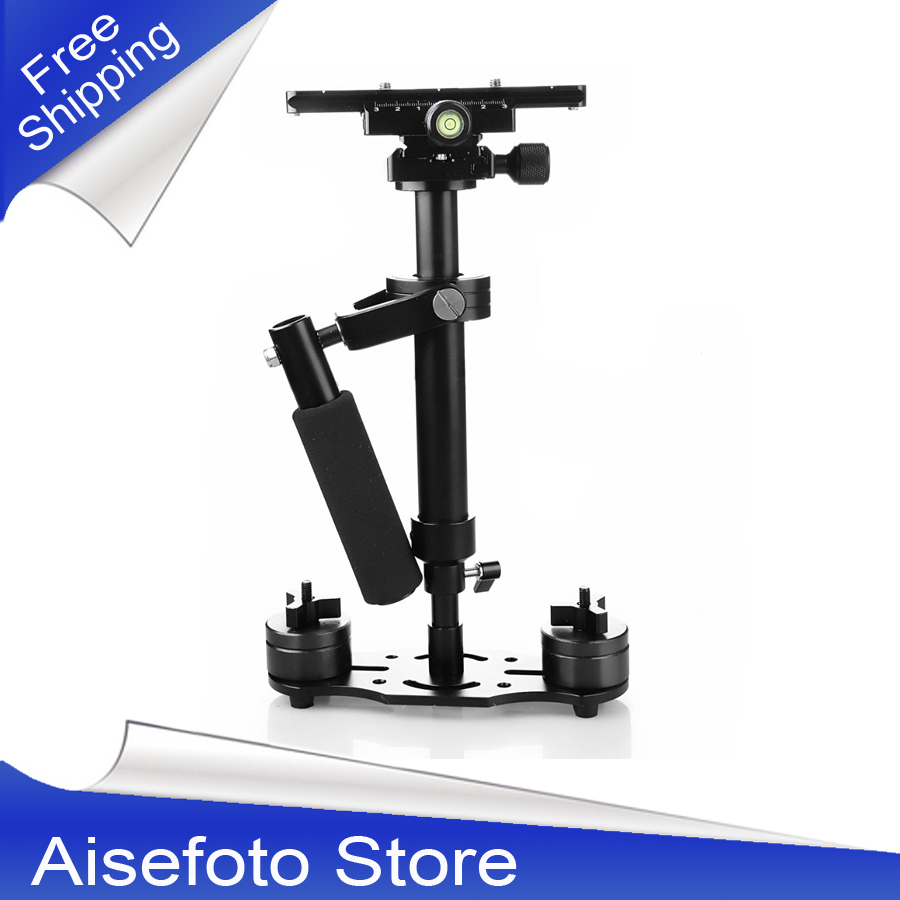 High Quality S40+0.4M 40CM Fiber Handheld Steadycam Stabilizer For Steadicam For Canon For Nikon For GoPro AEE DSLR Video Camera s40 steadycam new s40 40cm handheld stabilizer steadicam for camcorder camera video dv dslr high quality gopro stabilizer