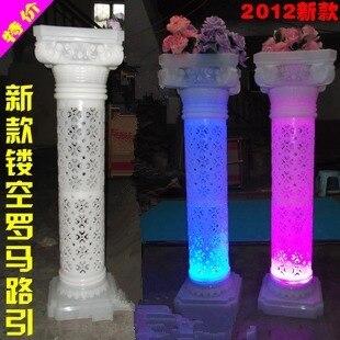 Diy columns wedding wedding tips and inspiration 4pcs lot wedding plastic roman column props solutioingenieria Image collections