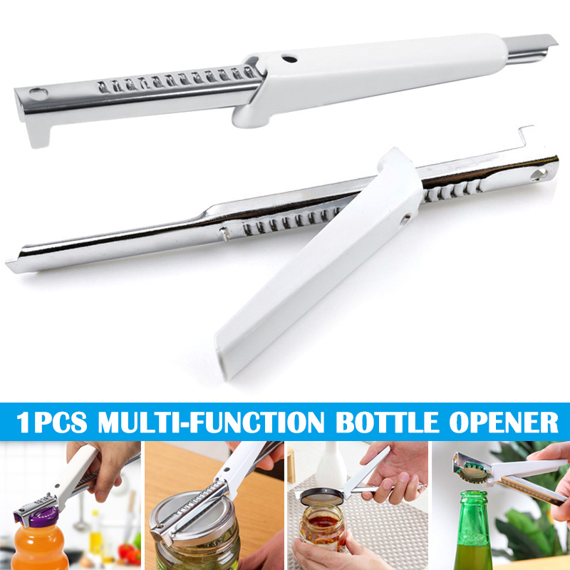 Can Bottle Opener Stainless Steel Adjustable Non-slip Durable Tools For Kitchen LBShipping