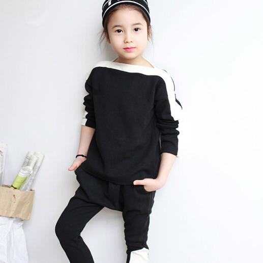 Autumn Girls Clothing Sets Costume For Kids Tracksuit Girl Sport Suit Children For Teenagers Clothes Tops Pants Two-pieces autumn girls clothing sets costume for kids tracksuit girl sport suit children for teenagers clothes tops pants two pieces