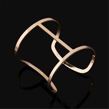 Charm fashion steampunk cuff bracelets bangles for women pulseiras sexy bracelet femme accessories