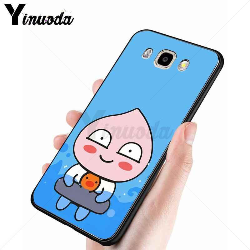 Yinuoda เกาหลีการ์ตูนตลกโกโก้เพื่อนโทรศัพท์กรณีสำหรับ Samsung Galaxy j7 prime j8 j2 prime j4plus j6plus 2018 โทรศัพท์มือถือฝาครอบ