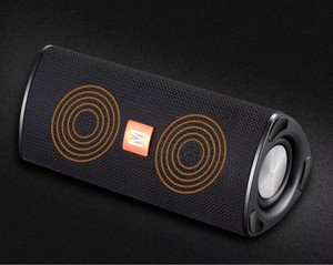 Image 3 - Portable Bluetooth speaker speaker, wireless portable speaker with 10W stereo system and surround music outdoor speaker