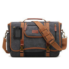 Canvas Polyester Message bags Shoulder Bags Men Strong Fabric Vintage Fashion Style Crossbody 2019 Multiple Pockets