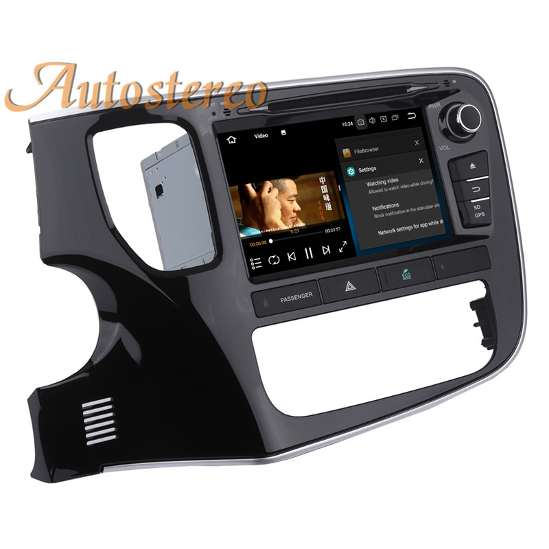 Best Android 9 Car GPS navigation Car DVD player For Mitsubishi OUTLANDER 2014 2015 2016 2017 multimedia radio tape recorder headunit 20