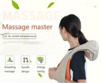 U Shape Electrical Shiatsu Back Neck Shoulder Shawl Massager Body Infrared 3D Kneading Massager EU Plug