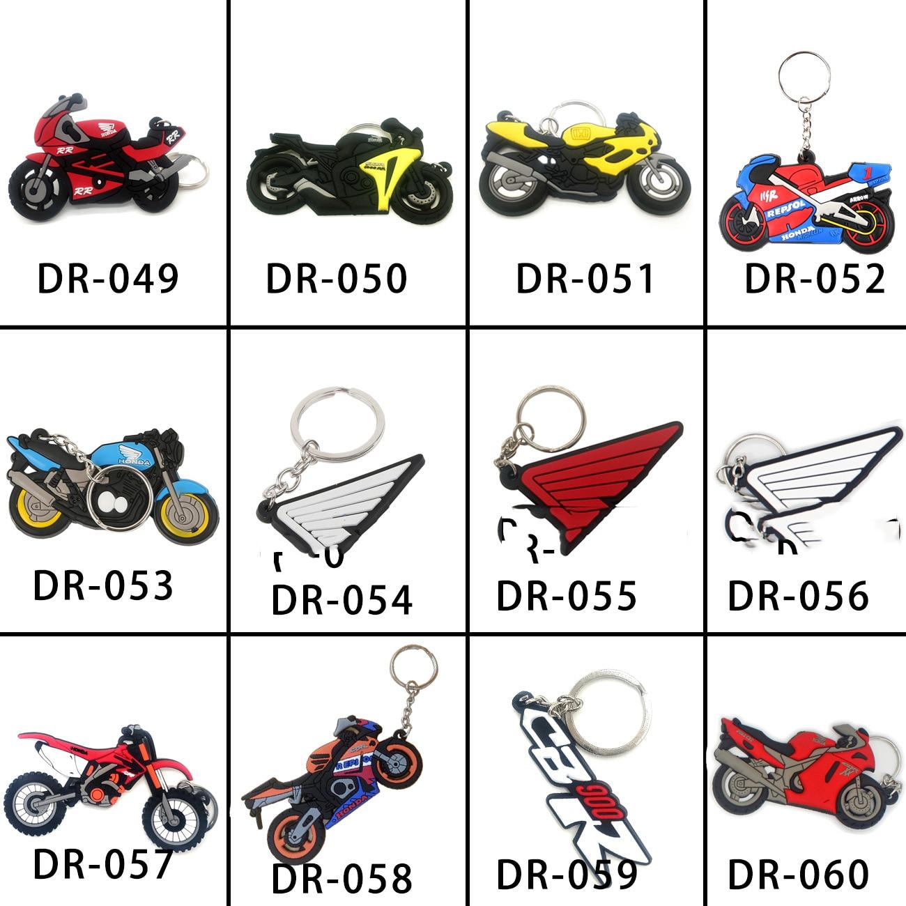 Kawasaki Ninja Soft Rubber Keyring Key Chain Motorcycle Key Ring Green /& Black