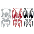 Brand New Motorcycle Decal Fuel Tank Sticker Full Decals Stickers Graphics Set Kit Logo For CB400 VTEC 1999-2012