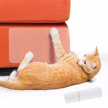 2 шт./компл. кошка Большая царапина защита коврик для кошек, Когтеточка для кошек защитное покрытие от когтей для дивана, мебели подушечки для обивки и кожаными стульями