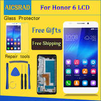5,0 ''1920x1080 Display Für HUAWEI Honor 6 LCD Display Touchscreen Digitizer Montage H60-L02 H60-L12 H60-L04 LCD