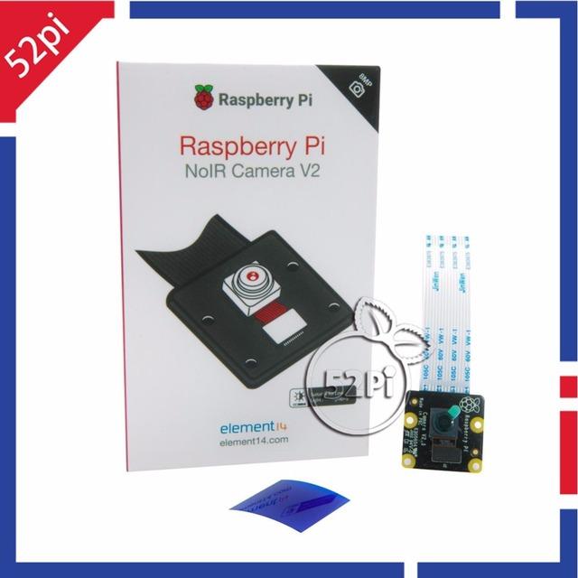 Nova Oficial Raspberry Pi NoIR Originais 8MP 8 Megapixels Da Câmera V2 Módulo IMX219 Sensor de Visão Noturna