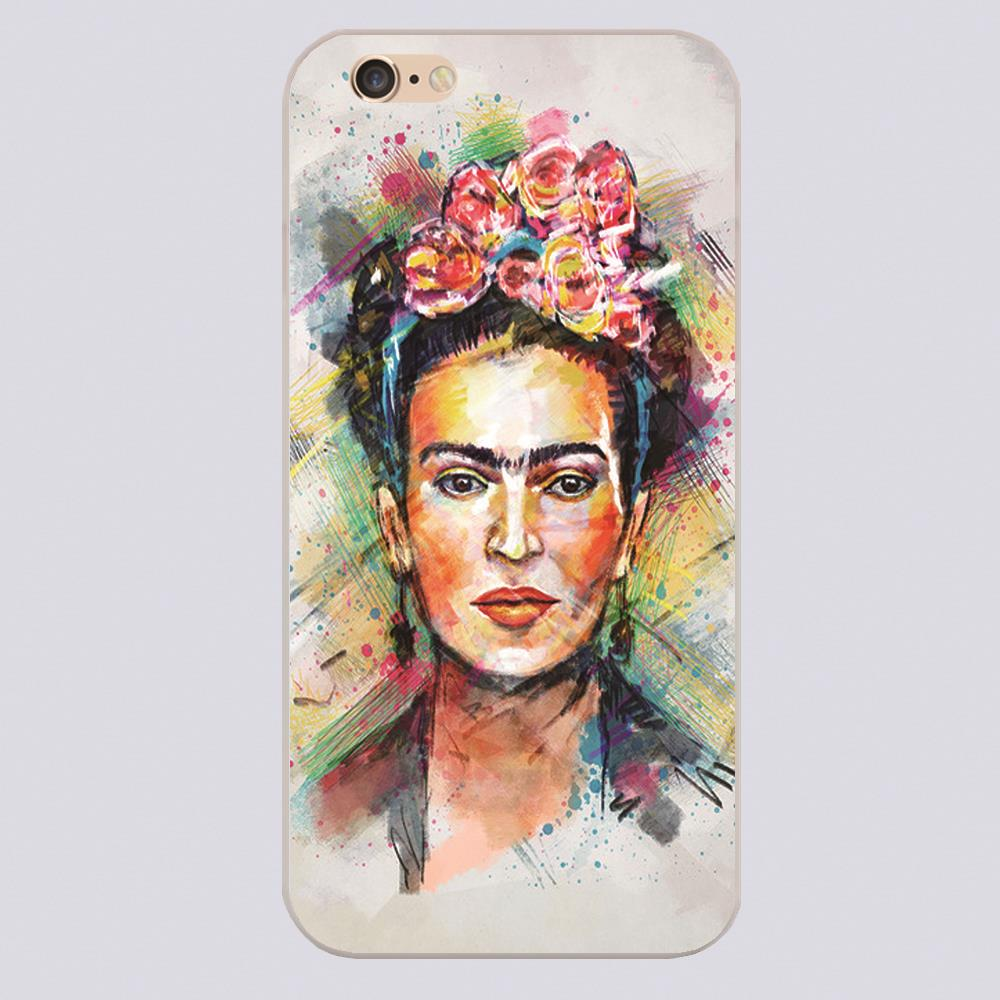 Frida Kahlo Design phone cover cases for iphone 4 5 5c 5s 6 6s 6plus Hard Shell