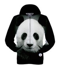 Mr.1991INC Autumn winter jacket for men/women hoody 3d printed big animal panda hooded hoodies 3d sweatshirts tops