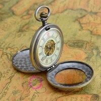 Kupon na sprzedaż hurtowa cena dobrej jakości stare retro antique człowiek czytanie lupy mechaniczny zegarek kieszonkowy naszyjnik godzin