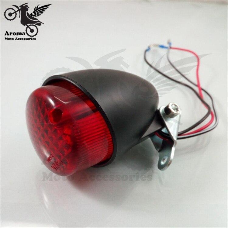red lens universal motorbike rear indicator blinker for harley motorcycle brake light for Harley Davidson LED moto tail light