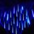 Coversage Led 30 CM 50 CM chuva de Meteoros Chuva Tubo de Luces Navidad Decoração Da Árvore de Natal Guirlanda de Natal Ao Ar Livre Luzes De Fadas