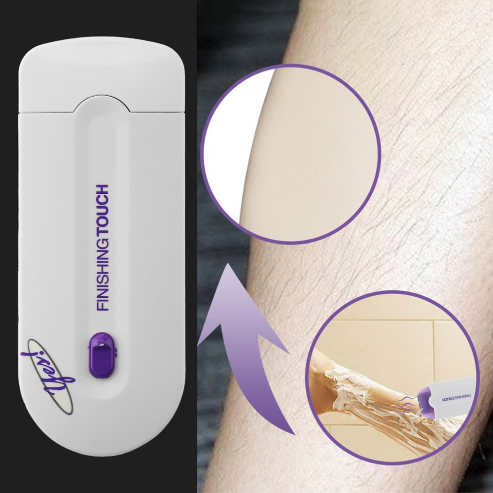 Laser Hair Removal Tools Face Body Health Care Depilator Lightweight Hair Remover Battery-Powered Women's Epilator Rechargeable