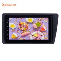 Seicane Android Touchscreen 7 2DIN GPS Radio Car Multimedia Player For 2001 2005 Honda Civic with FM WIFI AUX Support DAB 1080P