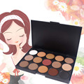 Hot 15 Color Makeup Neutral Face Eye shadow Camouflage Cosmetic Concealer Palette