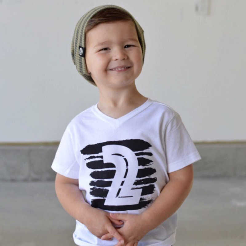 079633cba6f3f Summer Baby Girl Boys Tops T-shirts 1 2 3 4 Years Birthday Shirts Little  Baby Kids Clothes T-shirt Tees Children Clothing Cotton