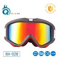 China Maunfacturer Sport Detachable Mirror Anti Fog Lens Custom Glasses Winter Sports Googles Snowboard Snow Ski