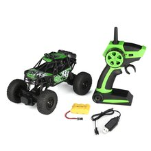 S-003 1/22 2.4G 2CH 2WD High Speed Remote Control RC Off-Road Climbing Crawler Rally Car Truck Vehicle for Children Kids Gift