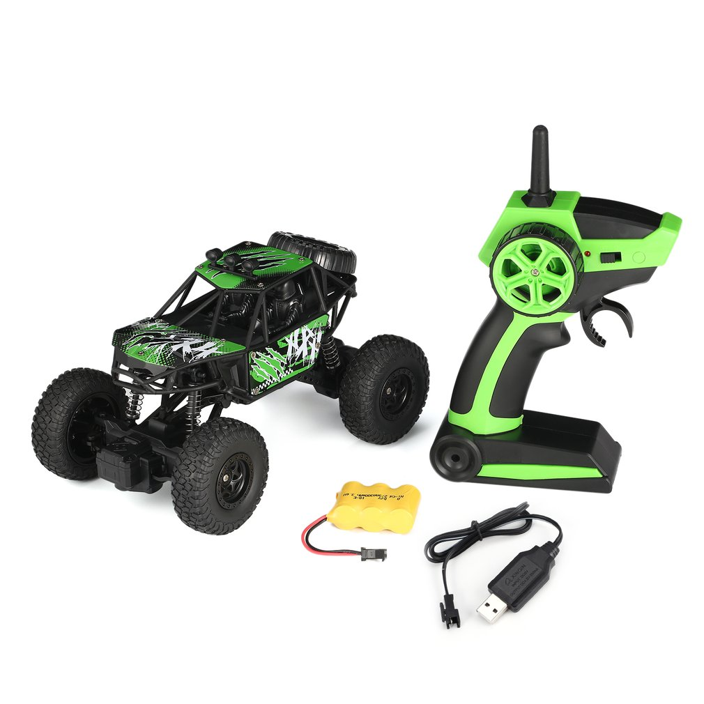 S-003 1/22 2.4G 2CH 2WD High Speed Remote Control RC Off-Road Climbing Crawler Rally Car Truck Vehicle for Children Kids Gift image