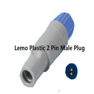 5 шт./лот Бесплатная доставка Для LEMO 2-контактный пластиковый штекер с одним слотом (PAG. M0.2GL) разъем