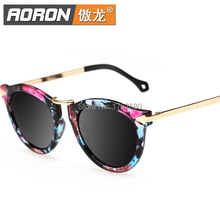 Free shipping new fashion lady polarized sunglasses gradient polarizer sunglasses 1406 female authentic boom