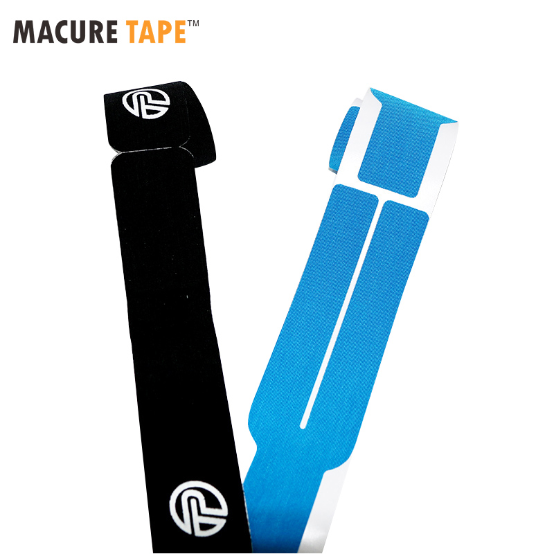 Macure Viscose Shiny Kinesiology Tape I strips and Y strips 5cmx2.5m Higher Quality than Original Cotton Kineisology tape